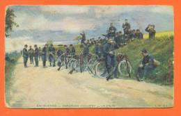 """En Guerre  """"  Chasseurs Cyclistes - La Halte  """" - Regiments"""