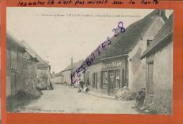 CPA 28  LE LUAT-CLAIRET   LURAY CRETE-BLOT Grande-rue Le  Café De La Chaumière  Environ De Dreux  Mars 2013  811 - France