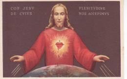 SANTINO- IL CUORE DI GESU -TUTTI ABBIAMO RICEVUTO N 17--ILL. M.BARBERIS - - Images Religieuses