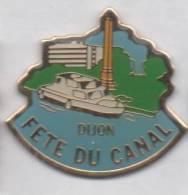 Ville De Dijon , Fête Du Canal , Bateau , Côte D'Or - Villes