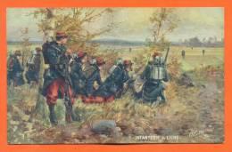 Infanterie De Ligne - Militaires En Campagne - Illustrateur - Regiments