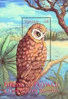 Tuvalu 2000 Birds Aves Oiseaux Vegels  Morepork - Ninox Novaeseelandiae Sheet MNH - Uilen