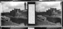 Plaque Stereo Gand Canal Quais - Glasplaten