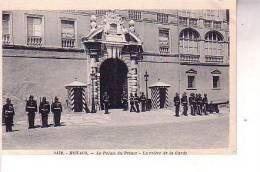 MONACO Palais Du Prince Relève De La Garde - Monaco