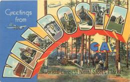 ETATS-UNIS - Greetings From VALDOSTA - Worlds Larquest Naval Stores Market - Etats-Unis