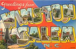 ETATS-UNIS - Greetings From WINSTON SALEM - Winston Salem