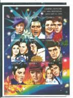 Gambie:  1741/ 1749 ** En Feuillet ( Elvis Presley) - Elvis Presley