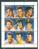Tanzanie: 816/ 824 ** En Feuillet ( Elvis Presley) - Elvis Presley
