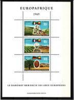 Dahomey (République) - Bloc Feuillet - BF N° 16 - Europafrique - Neuf** - Benin – Dahomey (1960-...)