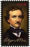 U.S. 2009. Scott.N°4377. MNH (**) EDGAR ALLAN POE (1809-49), Poet - Vereinigte Staaten