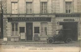 VENDOME LA SOCIETE GENERALE IMPRIMERIE LE CARILLON BANQUE AUTOMOBILE - Vendome