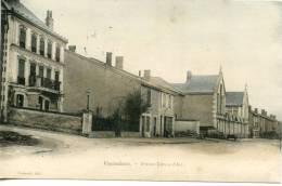 VAUCOULEURS - L'avenue Jeanne D'Arc - Villas - Scan Recto Verso - France