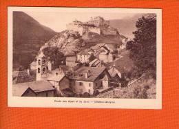 1 Cpa Chateau Queyras Route Des Alpes Et Du Jura - France