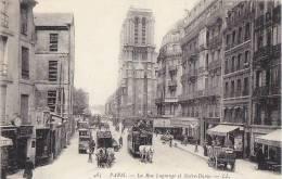 Paris 75005 - Rue Lagrange - Commerces Attelages - Arrondissement: 05