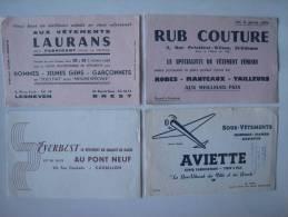 Buvard Vêtements Everbest Laurans Aviette Rub Avion - Papel Secante