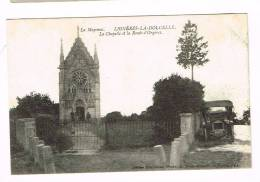 LIGNERES LA DOUCELLE ( Mayenne )  La Chapelle Et La Route D'Orgères - Autres Communes