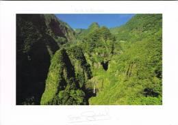 2048. Postal ISLA REUNION (Colonia Francesa) Île Reunion. Cascade De Takamaka - La Réunion