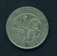 ICELAND - 1984 10k Circ - Iceland