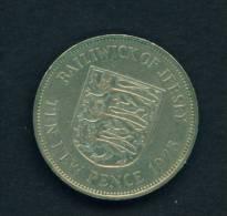 JERSEY - 1975 10p Circ - Jersey