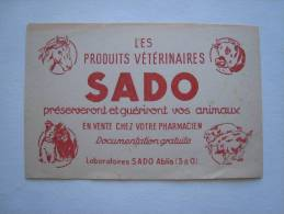 Buvard Produits Vétérinaires SADO Ablis Animaux Animal - Papel Secante