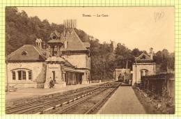 "Postkaart / Carte Postale ""Trooz - La Gare"""