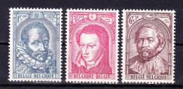 BELGIUM  1964 , Gospel  Community   125 Years  ,  Y&T #  1287/9 , Cv  1.25  E ,   ** M N H , V V F - Belgio
