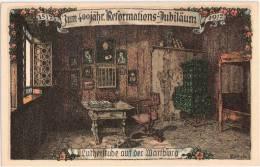 400 Jahre Reformation Luther Stube Auf Der Wartburg 1517 1917 Signiert Kallista TOP-Erhaltung Ungelaufen - Other