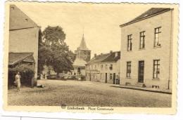 """Postkaart / Carte Postale """"Linkebeek - Place Communale"""" - Linkebeek"""