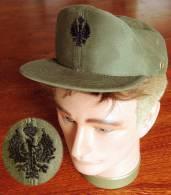 Ancienne Casquette De L'armée Espagnole - Casques & Coiffures