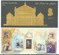 Bloc Souvenir Les Operas De Mozart - Blocs Souvenir