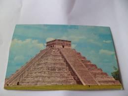 The Castle  Chichen Itza Yucatan Mexique Castillon The Castle Chichen Itza Yucatan Mexico - Colorado Springs