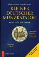 Kleiner Münz Katalog Deutschland 2013 New 15€ Numisbriefe+Numisblatt Schön Münzkatalog Of Austria Helvetia Liechtenstein - Tematica