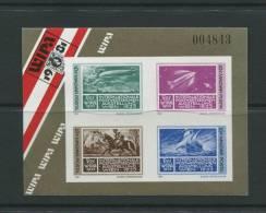 Hungary 1981 Sheet Sc 2696 Mi Block 150B MNH Imperf.  WIPA Exhibition Seals Cv 30 Euro - Philatelic Exhibitions