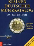 Kleiner Münzkatalog 2013 New 15€ Für Numis-Briefe Schön Coin Of Germany Austria Helvetia Liechtenstein 978-3-86646-097-3 - Phonecards