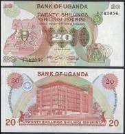 Uganda P 17 - 20 Shillings 1982 - UNC - Uganda