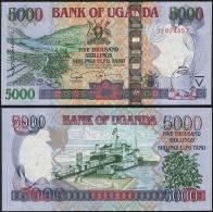 Uganda P 44 D - 5000 5.000 Shillings 2009 - UNC - Uganda