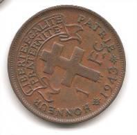 CAMEROUN  1  FRANC 1943 - Cameroun