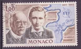 Monaco (C) 1965 Y&T N°674 (o) - 1f E Branly Et G Marconi - Used Stamps