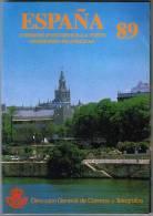 España 1989 Edifil 2986/3046 Sellos ** Libro Edicion Oficial Correos Año Completo Timbres Espagne Espana Stamps Spain - 1931-Hoy: 2ª República - ... Juan Carlos I
