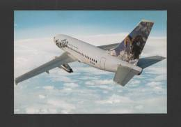 USA POSTCARD AIRLINE ISSUED FRONTIER AIRLINES AIRCRAFT 737 Year1994 Goat Color - 1946-....: Moderne