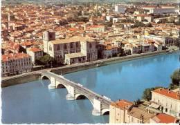ROMANS-SUR-ISERE 26 - Le Vieux Pont Sur L'Isère La Collégiale Saint-Barnard Et La Ville - W-1 - Romans Sur Isere