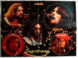 Poster Musik-Gruppe  Supertramp - Ca. 56 X 41 Cm  -  Von Pop Rocky Ca. 1982 - Plakate & Poster