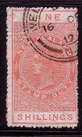 NEW ZEALAND QV 1880 Stamp Duty 9/- Fine Used..................... .31872 - New Zealand