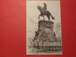 Menu Ancien Représentant Statue Du Général Faidherbe - Menus