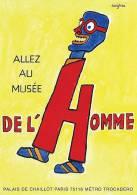 @@@ MAGNET - Allez Au Musée De L'Homme - Publicitaires
