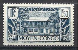 CONGO  N� 129 NEUF* TTB