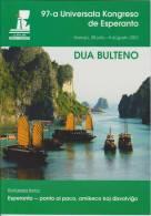 Esperanto 2nd Bulletin Congress 2012 Hanoi - Dua Bulteno Universala Kongresa 2012 Hanoi - Boeken, Tijdschriften, Stripverhalen