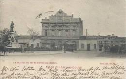 95382 Cpa BRUXELLES GARE Du Luxembourg à L´aiglon 1902 Voir Scans - Chemins De Fer, Gares