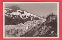 08557) FURKASTRASSE, HOTEL BELVEDERE, RHONEGLETSCHER, In 1924 - VS Valais