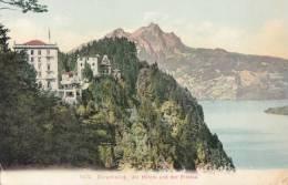 CPA - Bürgenstock - Die Hôtel Und Der Pilatus - NW Nidwald